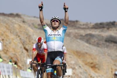 Tour of Oman: bis di Lutsenko nella terza tappa