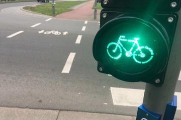 Un parco bici composto da circa 30 mezzi al Comune più green d'Italia
