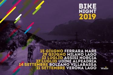 Bike Night, tornano le pedalate notturne per gli amanti delle due ruote